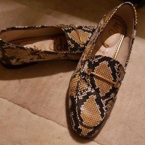 Sam Edelman python loafers